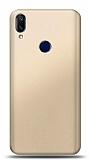 Samsung Galaxy A40 Gold Mat Silikon Kılıf