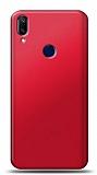 Samsung Galaxy A40 Kırmızı Mat Silikon Kılıf