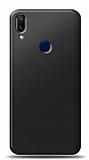 Samsung Galaxy A40 Siyah Mat Silikon Kılıf