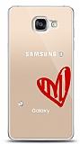Samsung Galaxy A5 2016 3 Taş Love Kılıf