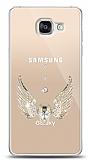 Samsung Galaxy A5 2016 Angel Death Taşlı Kılıf