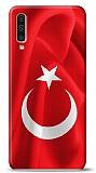 Samsung Galaxy A50 Türk Bayrağı Kılıf