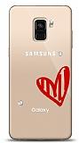 Samsung Galaxy A6 2018 3 Taş Love Kılıf