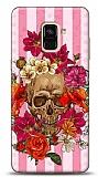 Samsung Galaxy A6 2018 Roses Skull 2 Kılıf