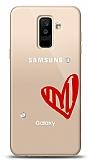 Samsung Galaxy A6 Plus 2018 3 Taş Love Kılıf