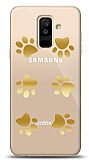 Samsung Galaxy A6 Plus 2018 Gold Patiler Kılıf