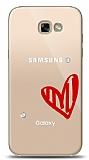Samsung Galaxy A7 2017 3 Taş Love Kılıf