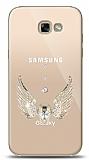 Samsung Galaxy A7 2017 Angel Death Taşlı Kılıf