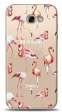 Samsung Galaxy A7 2017 Flamingo Resimli Kılıf