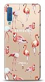 Samsung Galaxy A7 2018 Flamingo Resimli Kılıf