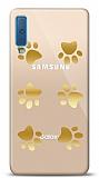 Samsung Galaxy A7 2018 Gold Patiler Kılıf