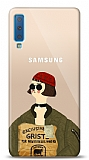 Samsung Galaxy A7 2018 Leon Mathilda Resimli Kılıf