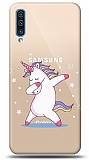 Samsung Galaxy A70 Dab Unicorn Resimli Kılıf
