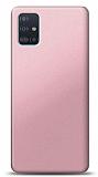 Samsung Galaxy A71 Rose Gold Mat Silikon Kılıf