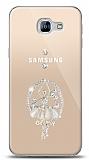 Samsung Galaxy A8 2016 Balerin Taşlı Kılıf
