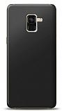Samsung Galaxy A8 2018 Siyah Mat Silikon Kılıf
