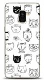 Samsung Galaxy A8 Plus 2018 Cats Resimli Kılıf