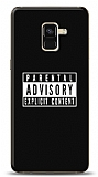 Samsung Galaxy A8 Plus 2018 Parental Advisory Kılıf