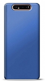 Samsung Galaxy A80 Lacivert Mat Silikon Kılıf