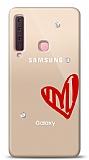 Samsung Galaxy A9 2018 3 Taş Love Kılıf