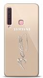 Samsung Galaxy A9 2018 Silver Atatürk İmza Kılıf