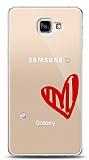 Samsung Galaxy A9 3 Taş Love Kılıf