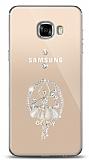 Samsung Galaxy C5 Balerin Taşlı Kılıf