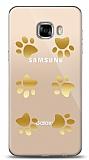 Samsung Galaxy C5 Pro Gold Patiler Kılıf