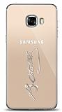 Samsung Galaxy C5 Silver Atatürk İmza Kılıf