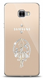 Samsung Galaxy C7 Pro Balerin Taşlı Kılıf