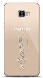 Samsung Galaxy C7 Pro Silver Atatürk İmza Kılıf