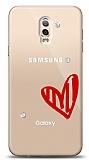 Samsung Galaxy C8 3 Taş Love Kılıf
