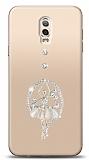 Samsung Galaxy C8 Balerin Taşlı Kılıf
