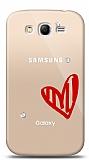 Samsung Galaxy Grand / Grand Neo 3 Taş Love Kılıf