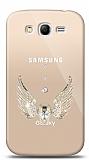 Samsung Galaxy Grand / Grand Neo Angel Death Taşlı Kılıf