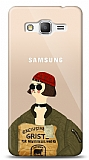 Samsung Galaxy Grand Prime / Plus Leon Mathilda Resimli Kılıf