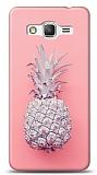 Samsung Galaxy Grand Prime / Plus Pink Ananas Kılıf