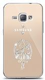 Samsung Galaxy J1 2016 Balerin Taşlı Kılıf