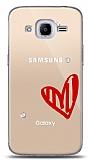 Samsung Galaxy J2 2016 3 Taş Love Kılıf