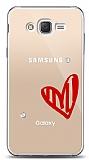 Samsung Galaxy J2 3 Taş Love Kılıf
