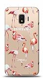 Samsung Galaxy J2 Core J260F Flamingo Resimli Kılıf