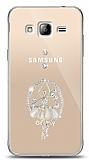 Samsung Galaxy J3 2016 Balerin Taşlı Kılıf