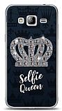Samsung Galaxy J3 2016 Selfie Queen Taşlı Kılıf