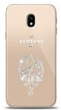 Samsung Galaxy J3 Pro 2017 Balerin Taşlı Kılıf