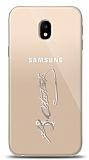 Samsung Galaxy J3 Pro 2017 Silver Atatürk İmza Kılıf