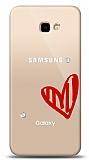 Samsung Galaxy J4 Plus 3 Taş Love Kılıf