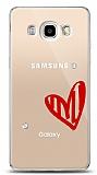 Samsung Galaxy J5 2016 3 Taş Love Kılıf