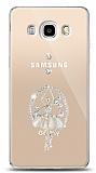 Samsung Galaxy J5 2016 Balerin Taşlı Kılıf