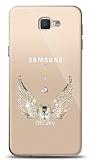 Samsung Galaxy J5 Prime Angel Death Taşlı Kılıf