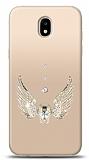 Samsung Galaxy J5 Pro 2017 Angel Death Taşlı Kılıf